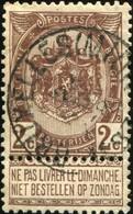"COB   55 A (o) Oblitération ""Bruxelles (Midi)"" T0 - 1893-1907 Wappen"