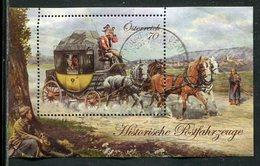Oesterreich / Block 77 O, Historische Postfahrzeuge (5/468) - Blocks & Kleinbögen