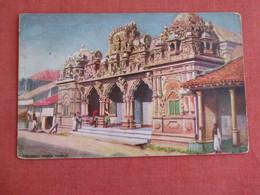 Sri Lanka (Ceylon) Colombo Hindoo Temple  Tuck Series Age Staining  Ref 3130 - Sri Lanka (Ceylon)
