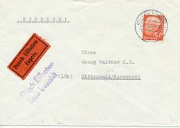DETMOLD - 1962 , Express - Nach Mittenwald - Briefe U. Dokumente
