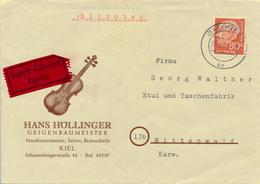 KIEL - 1961 , Express - Nach Mittenwald - Geige - Muziek