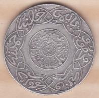 Maroc. 5 Dirhams (1/2 Rial) AH 1317 Paris. Abdül Aziz I  , En Argent - Marokko