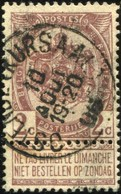 "COB   55 A (o) Oblitération ""Ostende (Kursaal)"" T1L - 1893-1907 Wappen"