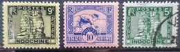 INDOCHINE -  N°214-215-216 - Neuf SANS Charnière ** / MNH Et Oblitéré (o) - Indochine (1889-1945)