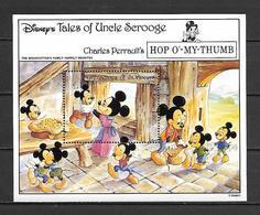 Disney St Vincent Gr 1992 Tales Of Ungle Scrooge - Hop O'my Thumb #1 MS MNH - Disney