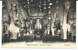 CPA De SAINT AY - 45 - LOIRET - INTERIEUR DE L'EGLISE - Autres Communes
