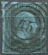 Preußen 2 Sgr Michel 3 Mit Nummernstempel 45 Arnsberg, RE. ANGESCHNITTEN (2-290) - Prussia