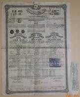 OBLIGATION - GOUVERNEMENT IMPERIAL OTTOMAN 4 % De 1890 - CONTANTINOPLE Octobre 1890 - Banque & Assurance