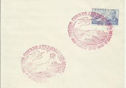 ESPAÑA, SOBRE PRIMER CORREO AEREO MADRID/MANILA - 1931-50 Storia Postale