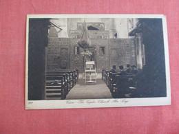 Egypt > Cairo Coptic Church   Ref 3130 - Cairo