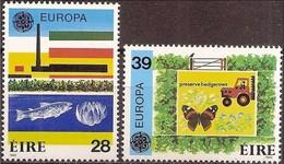 Ireland Irlande Ierland CEPT 1986  Yvertn° 592-593 *** MNH Cote 25,00 Euro Europa Fauna - 1949-... République D'Irlande