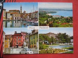 Piran / Pirano: Mehrbildkarte Piran + Portoroz - Slovenia
