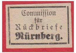 GERMANY -- ALLEMAGNE -- BAYERN -- 4 VIGNETTES DE RETOUR -- RETOURBRIEFE-- - Bavière