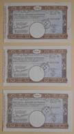 BON DE LA DEFENSE NATIONALE - LOT DE  BONS De 1.000 Francs Du 02 Mai 1939 - Vieux Papiers
