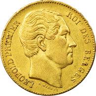 Monnaie, Belgique, Leopold I, 20 Francs, 20 Frank, 1865, SUP, Or, KM:23 - 1831-1865: Léopold I