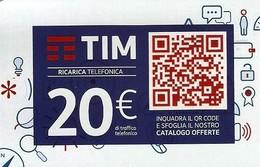 *ITALIA - TIM: QR CODE (TIM3c-20-C) - Ago.2020* - Ricarica Usata - Italia