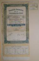 OBLIGATION S.A. De La FROMAGERIE D'OUST En ARIEGE - 09 - Du 01 Janvier 1931 - - Agriculture