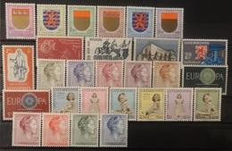 Luxemburg 1959 - 1960  Van  Nr.  612  Tot Nr. 638  Zie Foto      Postfris **  CW  38,00 - Luxembourg