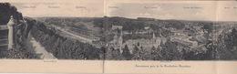 OUDE POSTKAART TRIPLE - UITKLAPKAART - FOLD OUT - LUXEMBOURG - Cartes Postales