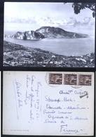 S.AGATA SUI DUE GOLFI - NAPOLI - 1956 - CAPRI VISTA DAL DESERTOSAN - Napoli
