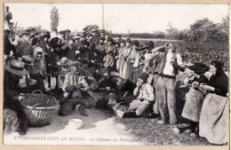 X33245 MEDOC VENDANGES Le Déjeuner Des Vendangeurs 14.09.1909 à RECLUS-ROYERE Conseiller Municipal Castillonnes - France