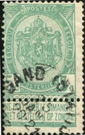 "COB   56  (o) Oblitération ""Gand (station)"" T1L - 1893-1907 Wappen"