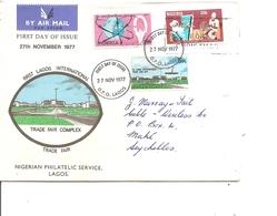 Nigéria - Foire De Lagos ( FDC De 1977 Voyagé Vers Les Seychelles à Voir) - Nigeria (1961-...)