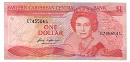 East Caribbean / Saint Lucia 1 Dollar 1988 - Caraïbes Orientales