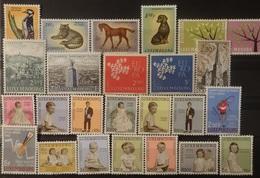 Luxemburg 1961  Van  Nr.  637  Tot Nr. 665    Zie Foto      Postfris **  CW  26,00 - Luxembourg