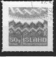 Islande 2017 Timbre Oblitéré SEPAC Artisanat Le Pull Islandais - 1944-... Republique