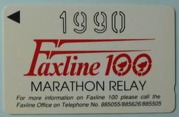 BAHRAIN - GPT - BHN27 -  Marathon Relay - Shallow Notch - 4BAHB - 1990 - 2500ex - Mint - Bahreïn