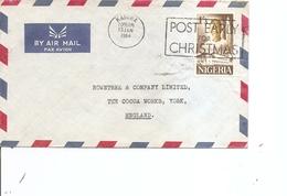 Nigéria ( Lettre Par Avion De 1964 De Kaduna Vers La Grande-Bretagne à Voir) - Nigeria (1961-...)
