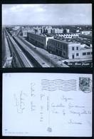 BARI - 1953 - RIONE JAPIGIA CON LINEA FERROVIARIA - Bari