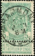 """COB   56  (o) Oblitération """"Grammont"""" T0 - 1893-1907 Wappen"""