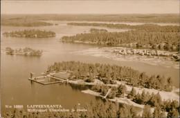 Postcard Lappeenranta Myllysaari Uimalaitos Ja Ranta 1962 - Finlande