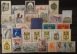 Luxemburg 1963-64  Van  Nr.  666  Tot Nr. 695    Zie Foto      Postfris **  CW  19,50 - Luxembourg