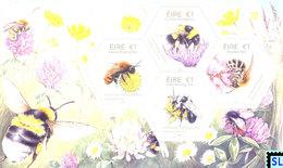 Ireland Stamps 2018, Native Irish Bees, MS - Altri