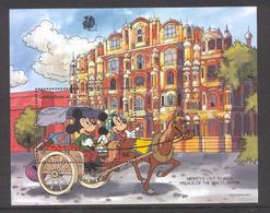 Disney St Vincent Gr 1989 Micey's Visit To India MS MNH - Disney