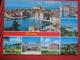 Piran / Pirano: Mehrbildkarte / Ankaran, Koper, Izola, Strunjan, Portoroz - Slovénie