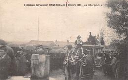 ¤¤  -  FROSSAY  -  Obsèque De L'Aviateur MANEYROL En 1923 - Le Char Funèbre  - Aviation , Avion  -  ¤¤ - Frossay