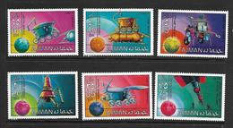 AJMAN 1971 VEHICULES LUNAIRES  YVERT N°149-A125  NEUF MNH** - Space