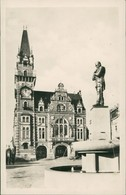 Friedland Im Isergebirge Frýdlant V Čechách Gebäude Brunnen Denkmal 1950 - Tchéquie