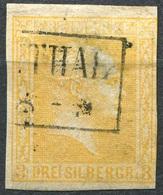 Preußen 3 Sgr Michel 12 O K2 …THAL, KNAPP GESCHNITTEN (3-310) - Preussen