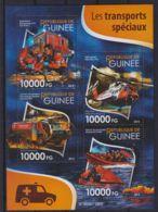 E90. Guinea - MNH - 2015 - Transport - Recovery - Transports