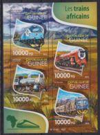 E90. Guinea - MNH - 2015 - Transport - Trains - Arican - Transports