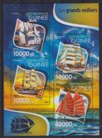 E90. Guinea - MNH - 2015 - Transport - Ships - Transports