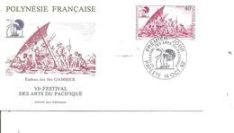 Bateaux - Radeaux  ( FDC De Polynésie De 1992 à Voir) - Bateaux