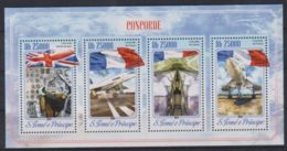 K90. Sao Tome & Principe - MNH - 2014 - Transport - Airplanes - Transports