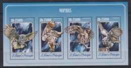 K90. Sao Tome & Principe - MNH - 2014 - Nature - Animals - Birds - Timbres