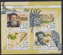 L90. Guinea - MNH - 2016 - Nature - Animals - Conrad Gessner - Timbres